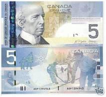 CANADA  : 5  Dollars - 2006 - UNC - Kanada