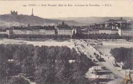 France Lyon Pont Morand Quai de Retz et Coteau de Fourviere 1913