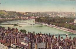 France Lyon Le Pont et la Boucle et le Pont St Clair
