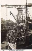 Barrow Vickers Warf Devonshire Dock Old Real Photo Postcard - Cumberland/ Westmorland