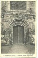 VERMEILLES - Portail De L'Eglise, Style Roman - France