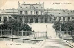 25 - BRIVE - La Gare (date 1905) - Brive La Gaillarde