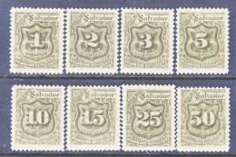 El Salvador  J 1-8  Reprints .  * - El Salvador