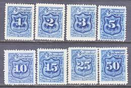 El Salvador  J 25-32   Reprints .  * - El Salvador