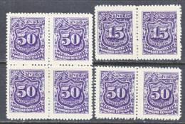 El Salvador  J 38+   Reprints .  * - El Salvador