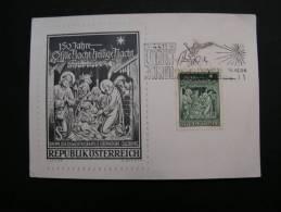 == Austria  Karte Christkindel 1968  Mit Taxe - 1961-70 Covers