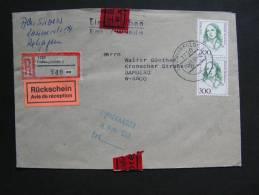 == BRD  Express MeF 1901  Frauen  - - Covers & Documents
