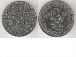 West Africa  100 Francs 1969  Km 4  Unc !!! * - Monnaies