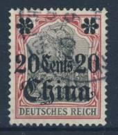 Deutsche Post China Mi No. 32 gestempelt used