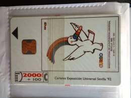 TELECARTE A PUCE ESPAGNE SEVILLA 92 NSB - España