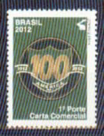 Brasil 2012 ** Centenario Del Club De Futbol America. Centenary Of The America Soccer Club. - Nuevos