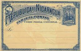 NICARAGUA - CARTE ENTIER POSTAL ILLUSTREE NEUVE - - Nicaragua