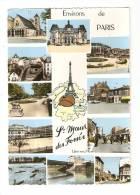 CPA - 94 - Val De Marne : Saint Maur Des Fossés : Multivues (11 Vues) église , Square , Lycée, Mairie, Pont ... ) - Saint Maur Des Fosses