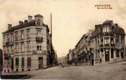 Verviers           La Rue De Liège   . - Verviers