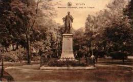 Verviers             Monument Vieuxtemps, Place Du Congrès ( Publicité Centre D'excursions Pays De Hervé, Fagnes, Ar   . - Verviers