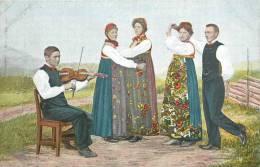 : Réf : L-12-1759 : Norvège Hallingdal Nationaldans - Norwegen
