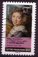 AA678 - Portraits De Femmes Dans La Peinture - Oblitéré - Année 2012 - Gebruikt