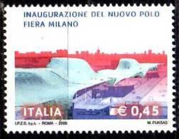 PIA - ITALIA - 2005 : Nuovo Polo Fiera Milano   - (SAS  2814) - 6. 1946-.. Repubblica