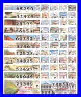 AÑO COMPLETO DE LOTERIA NACIONAL DEL JUEVES DEL 2011 - Billetes De Lotería