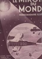 LE MIROIR DU MONDE 14 11 1931 - PARACHUTE - FLEURINES - CHYPRE - VENTRILOQUE - CHICHEN ITZA - BOUCHERIE - SALON AUTOMNE - Allgemeine Literatur