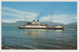 Shipping - T.S. Duchess Of Hamilton, Gourock - Steamers