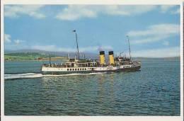 Shipping - P.S. Waverley, Craigendoran - Steamers