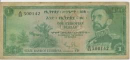 ETHIOPIA P. 18a 1 D 1961 G - Ethiopie