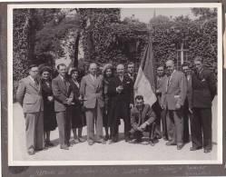 Photo 23x17 Remise Diplomes C.O.F.C. Juillet 1949, Palais D'Egmont, Bruxelles Belgique -laureats Du Travail - Photos