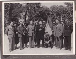 Photo 23x17 Remise Diplomes C.O.F.C. Juillet 1949, Palais D'Egmont, Bruxelles Belgique -laureats Du Travail