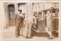 20947 - 6 Photo 5x8cm 1929-30 Voiture Ancienne 3722WW1 -reparation; Sans Doute Autour De Rennes Ou A Mareuil (?) - Automobiles