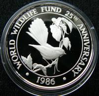 Samoa 10 $ 1986 bird silver proof