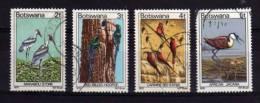 Botswana - 1978 - Birds (4 Values) - Used - Botswana (1966-...)