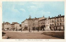 BOULAY (57) Place De La République - Boulay Moselle