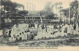 : Réf : L-12-1829 :  Birmanie Mandalay Léproserie - Myanmar (Burma)