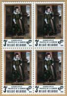Bloc De 4 Timbres 1974 N° 1724 - Cornelis De Vos, ´ Frans Vekemans ´ - België