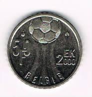 0X  ALBERT II  50 FRANK  EK VOETBAL  2000 - 05. 50 Francs