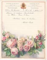 Belgique Telegramme Telegram -dessin Tinot- Lambillotte Beauvais, Plaine Saint Pierre. 1937
