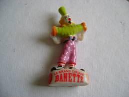 BANETTE - CLOWN - FEVE BRILLANTE - - Personnages