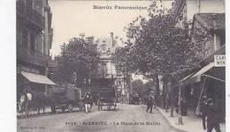 FRANCE - BIARRITZ - LA PLACE  DE LA MAIRIE - Biarritz