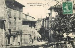 POMMIERS RUE DE L'EGLISE 69 RHONE - Francia