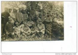 IMPORTANT GROUPE DE SOLDATS INFIRMIERS CROIX ROUGE  GUERRE 1914/18 TOP - Croix-Rouge