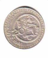 MEXICO   20  PESOS  1981  (KM# 486) - Mexico