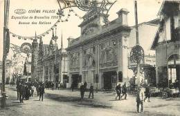 : Réf : L-12-1877 : Cinéma Palace à Bruxelles 1910 Le Batiment - Kino & Film