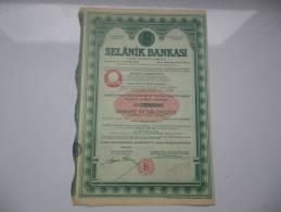 BANQUE DE SALONIQUE (selanik Bankasi) - Non Classificati