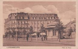 CPA LUXEMBOURG, Place De Paris. (animée) - Luxemburg - Town