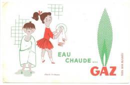 BUVARD  Eau Chaude GAZ Le Bain La Vaisselle - Electricité & Gaz