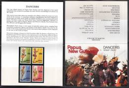 Papua New Guinea 1987 Dancers Stamp Pack - Papouasie-Nouvelle-Guinée