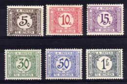 Belgian Congo - 1923/30 - Postage Dues - MH - Taxe: Neufs