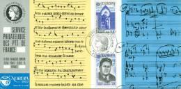 013 Carte Officielle Exposition Internationale Exhibition Nordia Helsinki 1985 France Musique Music Musik Partition