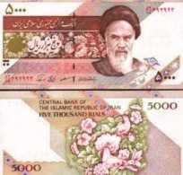Iran #145d, 5.000 Rials, ND (2002), UNC / NEUF - Iran